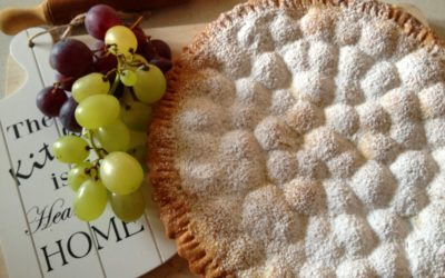 Crostata con uva e ricotta al profumo di cannella – I'll be home for Christmas