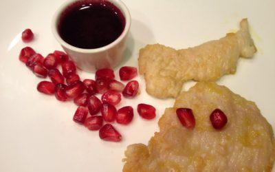 Pollo con salsa di vin cotto e melagrana – Auld Lang Syne