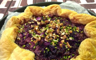 Torta salata con cavolo viola e mele al cacao – Somebody to love