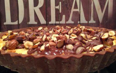 Crostata magica, cioccolato, cocco, pere e nocciole – Circle