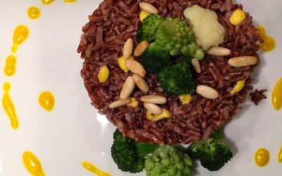 Riso Ermes light con broccoletti e salsa allo zafferano – Father & Friend
