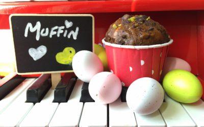 Muffin light cioccolato, pistacchi ed avocado – Mon Menage a Moi