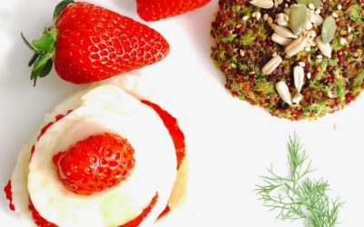 Menù tricolore: veggie burger di quinoa e zucchine con contorno patriottico – Imagine