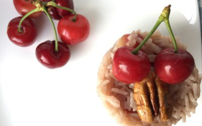 Risotto ciliegie e noci pecan – Take me to church