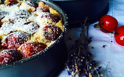 Clafoutis con ciliegie e latte di cocco – Take me to church