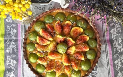 Crostata con fichi, crema frangipane e prugne per #Dalani – Grandir
