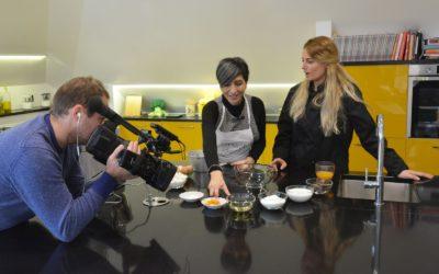 Torta morbido abbraccio all'arancia e la prima volta di Impastastorie in tv… web tv!