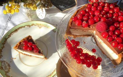 Cheesecake cioccolato, ribes e passione – J'aime Paris au mois de mai