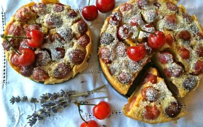 Clafoutis ciliegie, latte di cocco e primavera – Take me to church