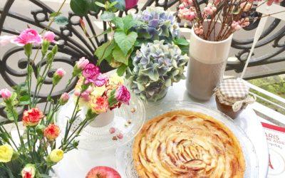 La vrai tarte aux pommes parisienne – C'est si bon!