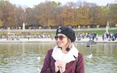 Parigi in autunno, la vie en jaune