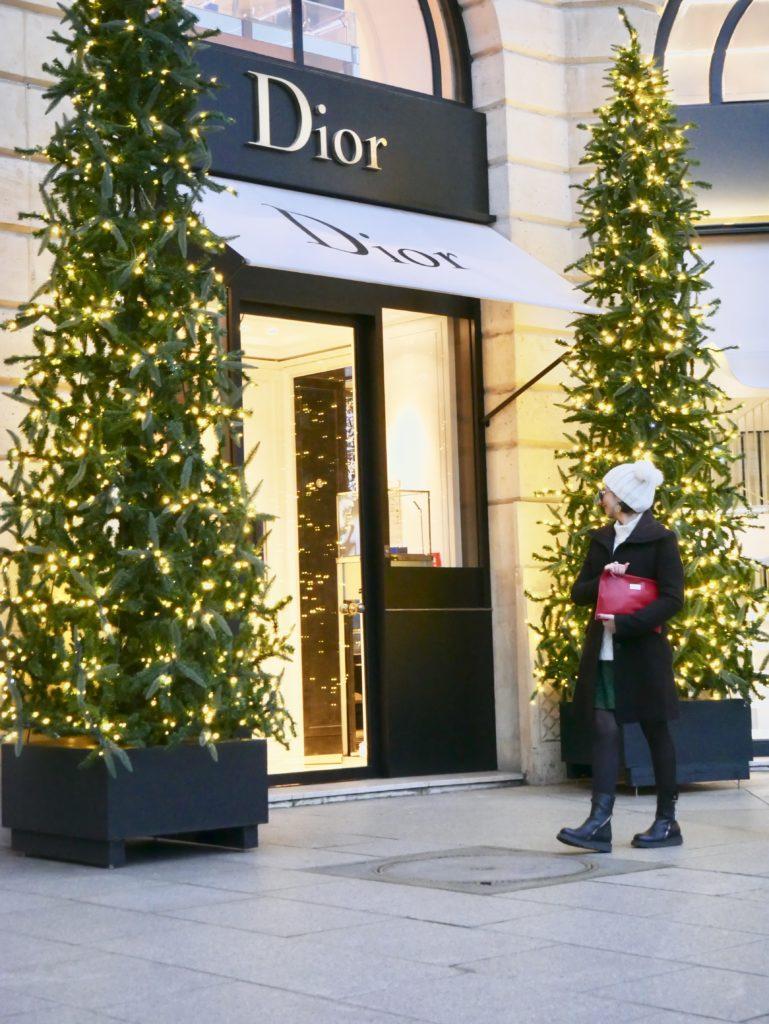 gioielli paris, paris, parigi, place vendome, ritz parigi, gioiellieri parigi, jewels, bijoux, place vendôme a Natale, dior