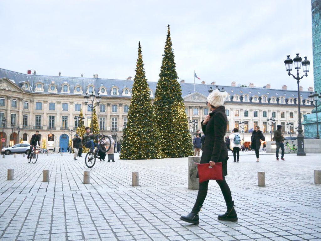 gioielli paris, paris, parigi, place vendome, ritz parigi, gioiellieri parigi, jewels, bijoux, place vendôme a Natale
