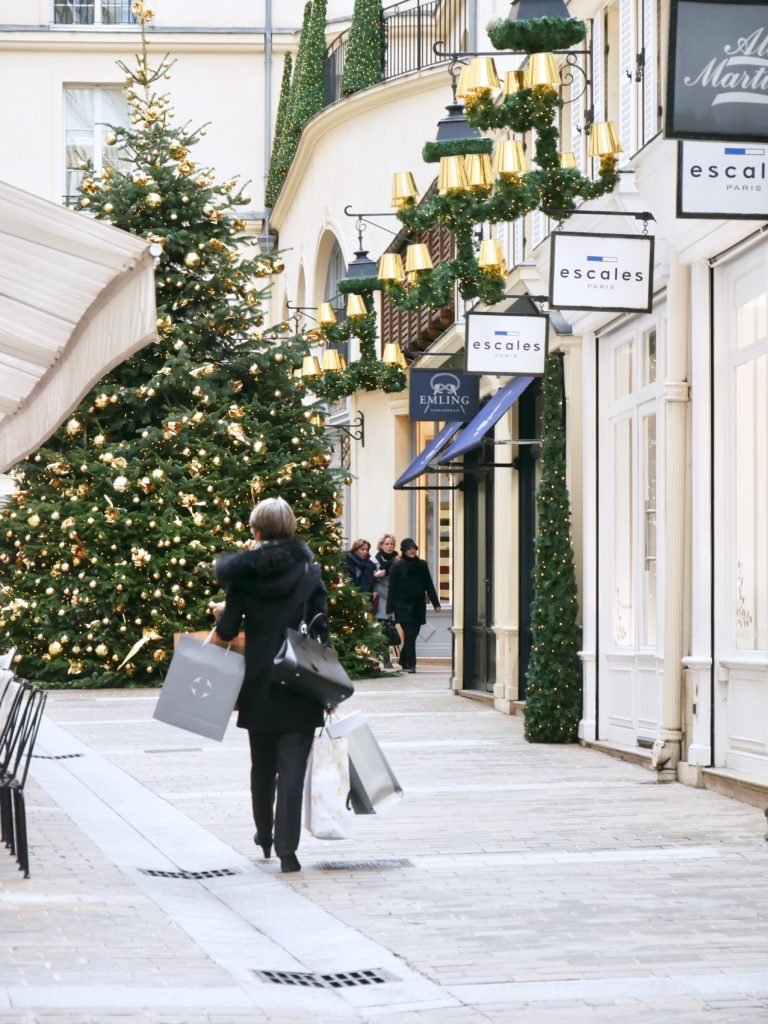 Natale a Parigi, Village Royal, dior, chanel, patrizia pepe, nafnaf, oysho, xmas look, xmas mood, travel paris