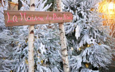 Babbo Natale abita a Paris ed ha una casetta da sogno in centro!