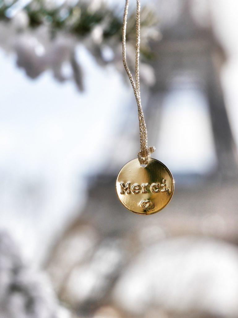 Tour Eiffel, Paris, Merci, 111 Boulevard Beaumarché, Parigi, Natale a Parigi, xmas in Paris, Christmas in Paris, travel paris, Impastastorie Bistrot, giveaway, amicizia, gratitudine, l'importanza di dire grazie,