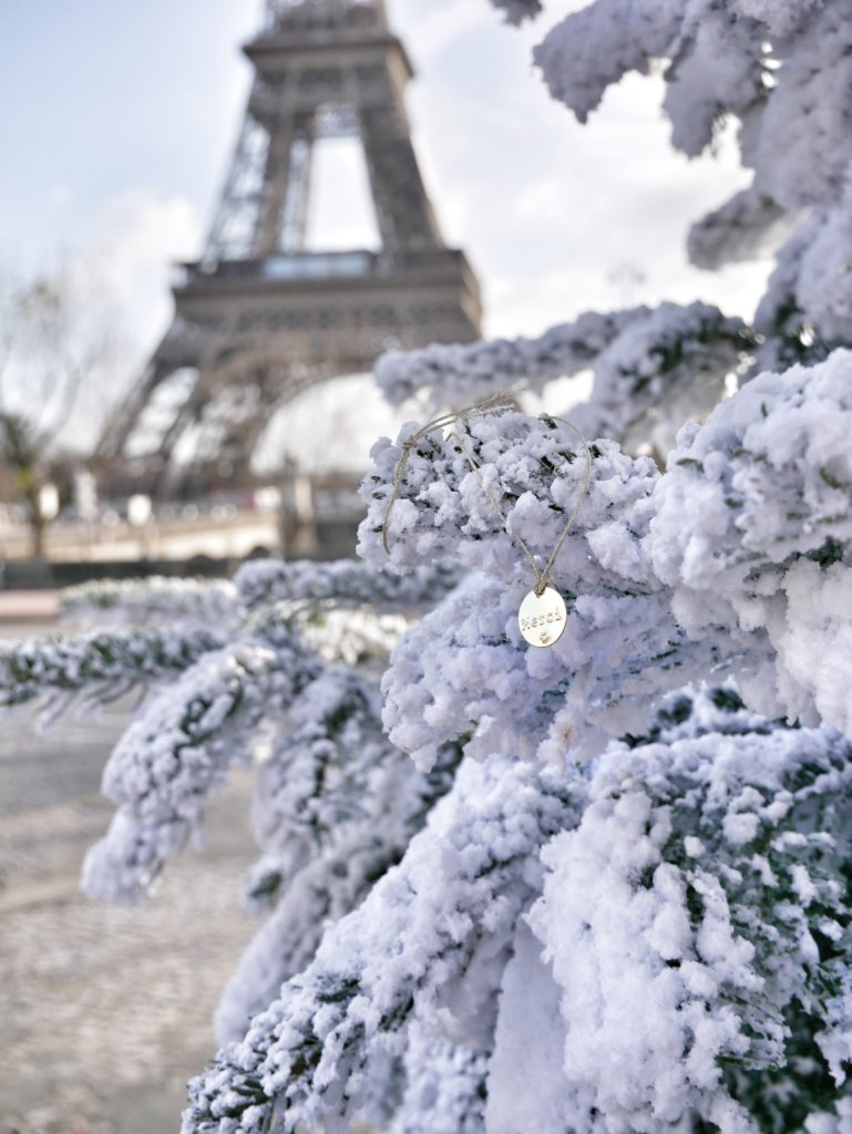 Tour Eiffel, Paris, Merci, 111 Boulevard Beaumarché, Parigi, Natale a Parigi, xmas in Paris, Christmas in Paris, travel paris, Impastastorie Bistrot, giveaway, amicizia, gratitudine, l'importanza di dire grazie,