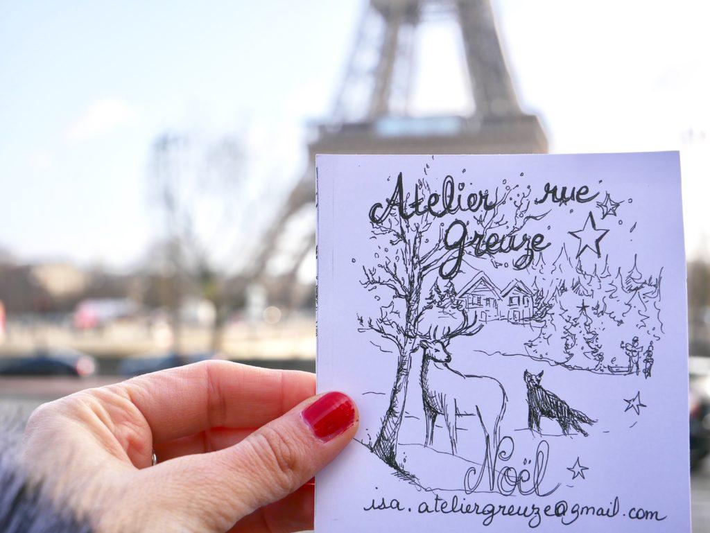 atelier, natale a parigi, rue gueuze, agf16, agf, parigi, paris, impastastorie, impastorie bistrot, artisti parigi, pittori a parigi