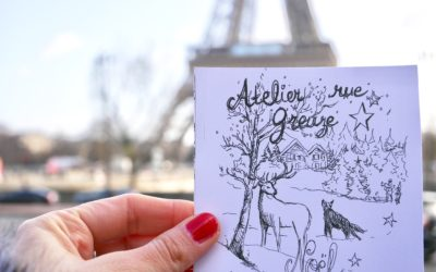 Natale degli artisti, l'atelier rue Greuze a Paris
