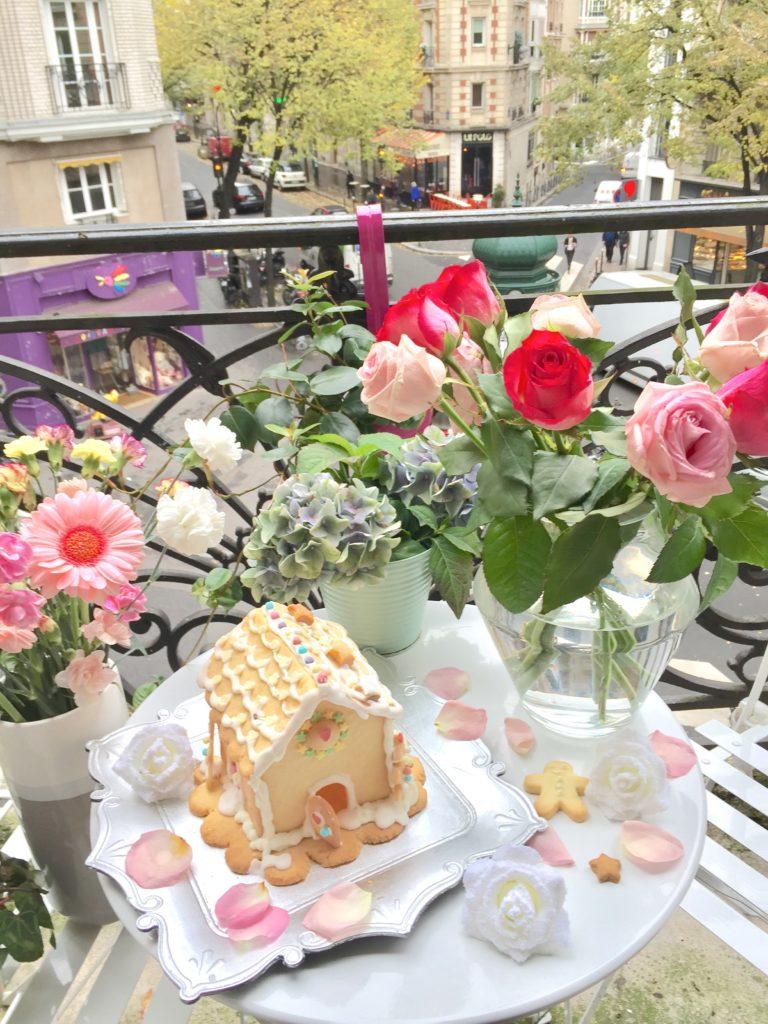 Casetta di Biscotti, ma maisonnette, parigi, gingerbread house, gingerbread, parigi, paris, impastastorie bistrot, ricette di natale, dolci di natale