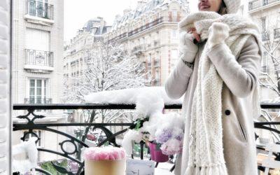 Parigi sotto la neve… una cartolina a cielo aperto