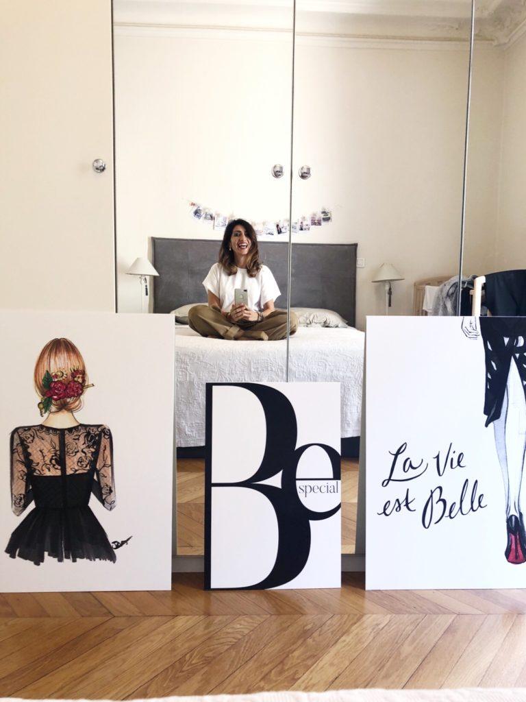Posterlounge, home décor, poster mania, impastastorie bistrot, maison parisien, paris home, home style, interior design