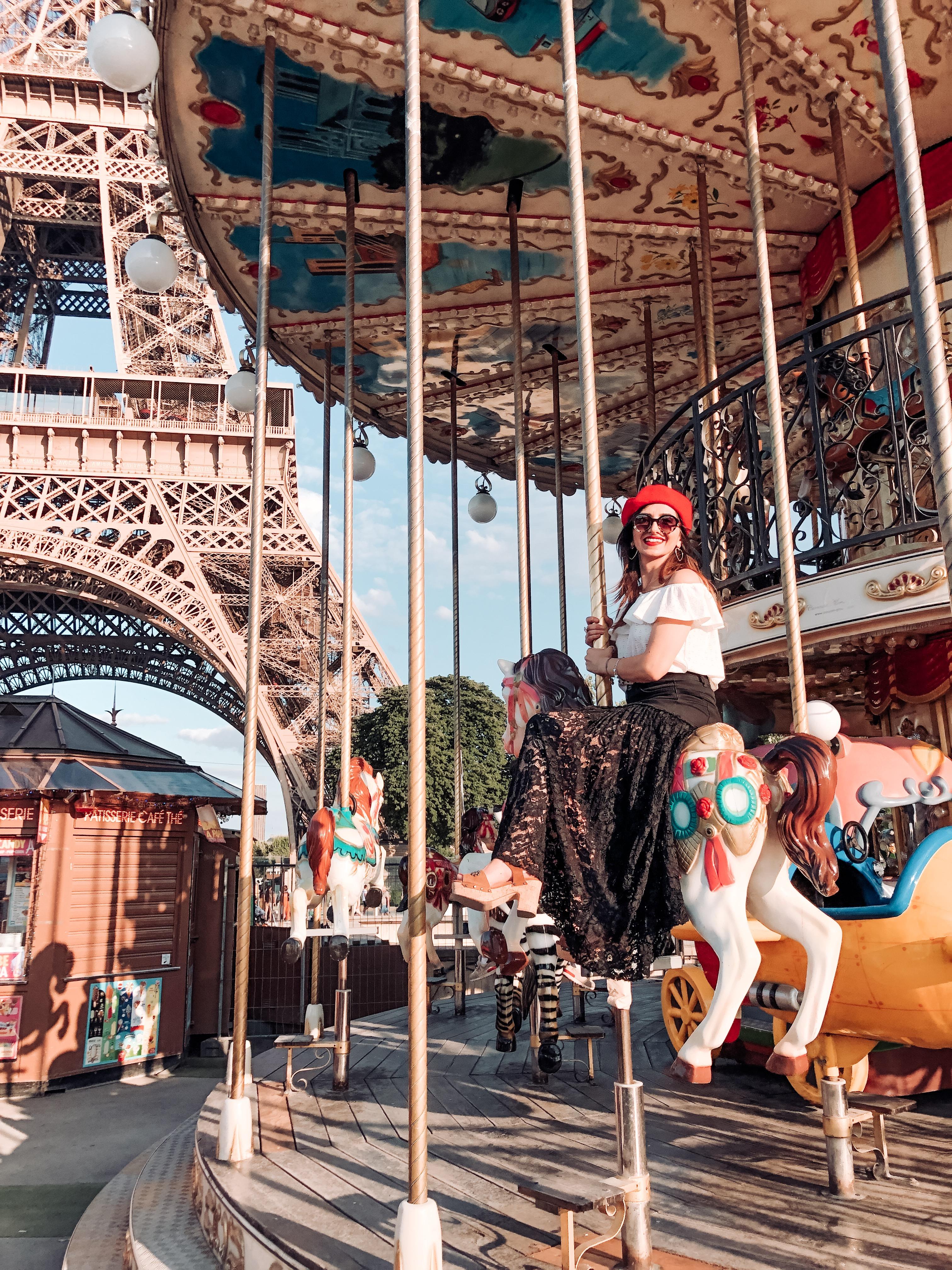Paris, Parigi, carrousel, Tour Eiffel, Eiffel Tower, Impastastorie, Impastastorie Bistrot