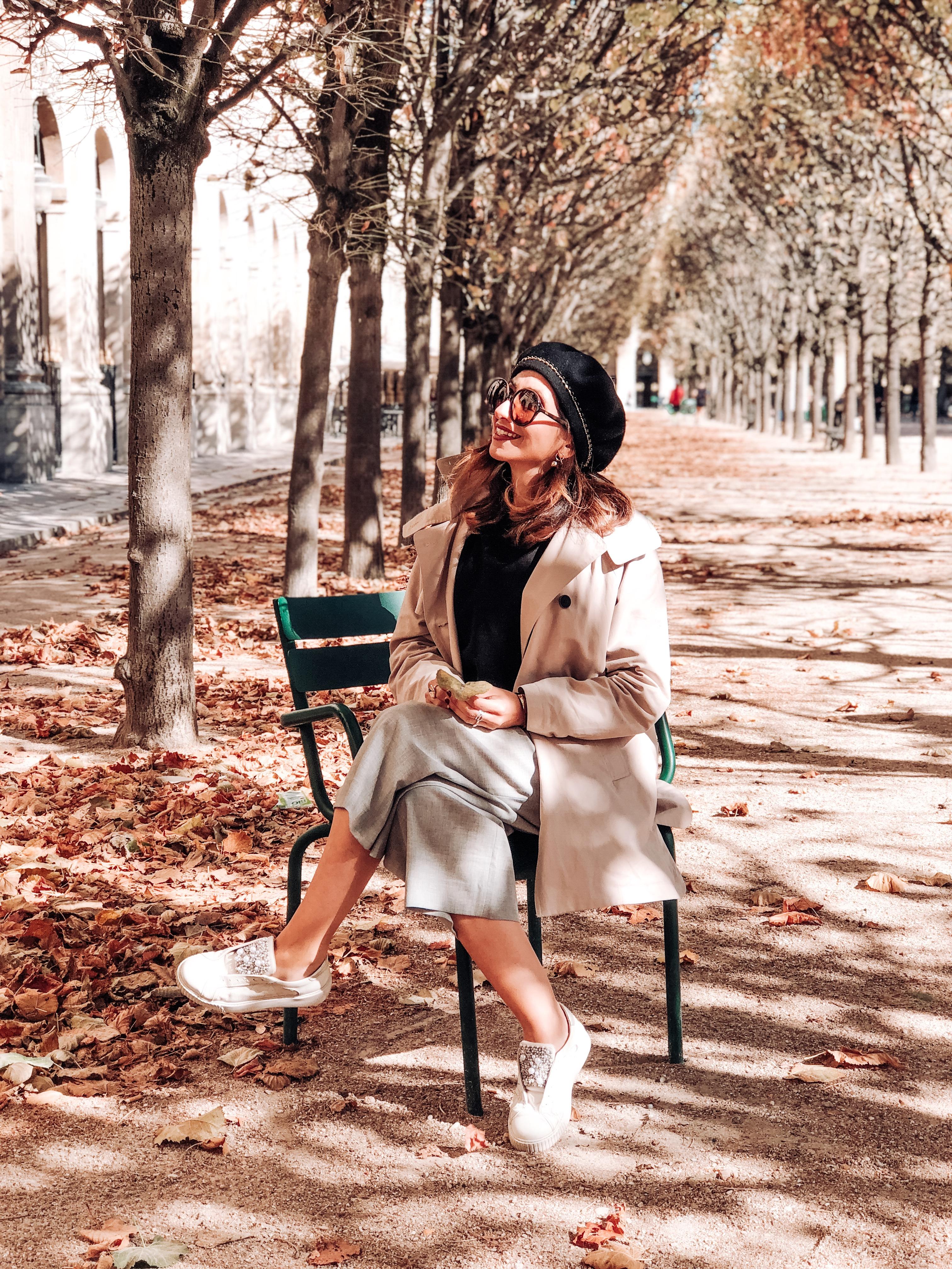 Palais Royal, Parigi in autunno, jardin de luxembourg, Impastastorie, impastastorie bistrot, autumn in paris, Champ de Mars, Tour eiffel, eiffel tower in autumn