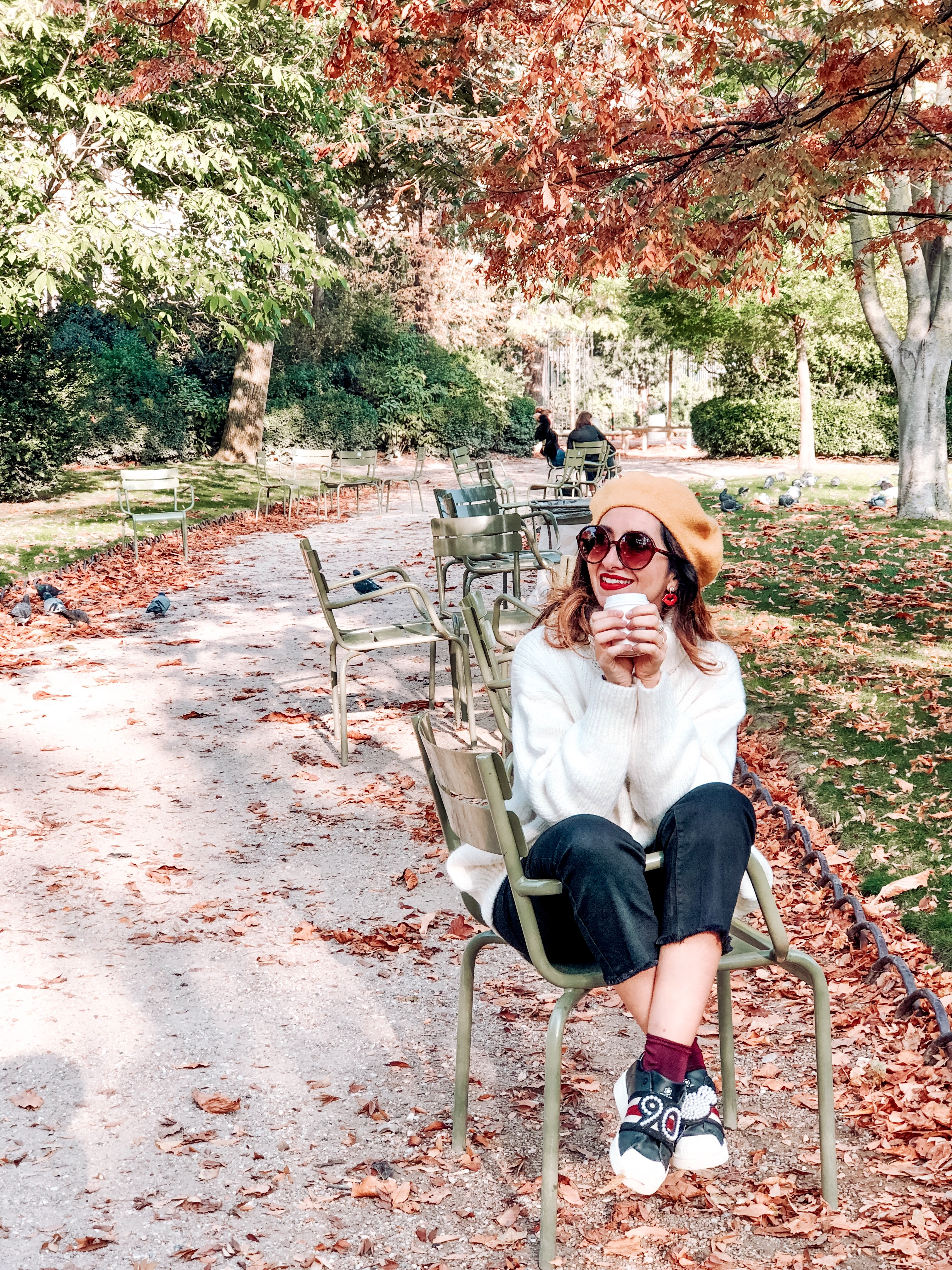 Parigi in autunno, jardin de luxembourg, Impastastorie, impastastorie bistrot, autumn in paris,