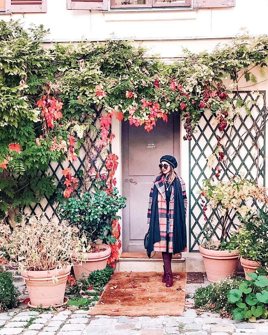 Musée de la vie romantique, Parigi in autunno, Impastastorie, impastastorie bistrot, autumn in paris