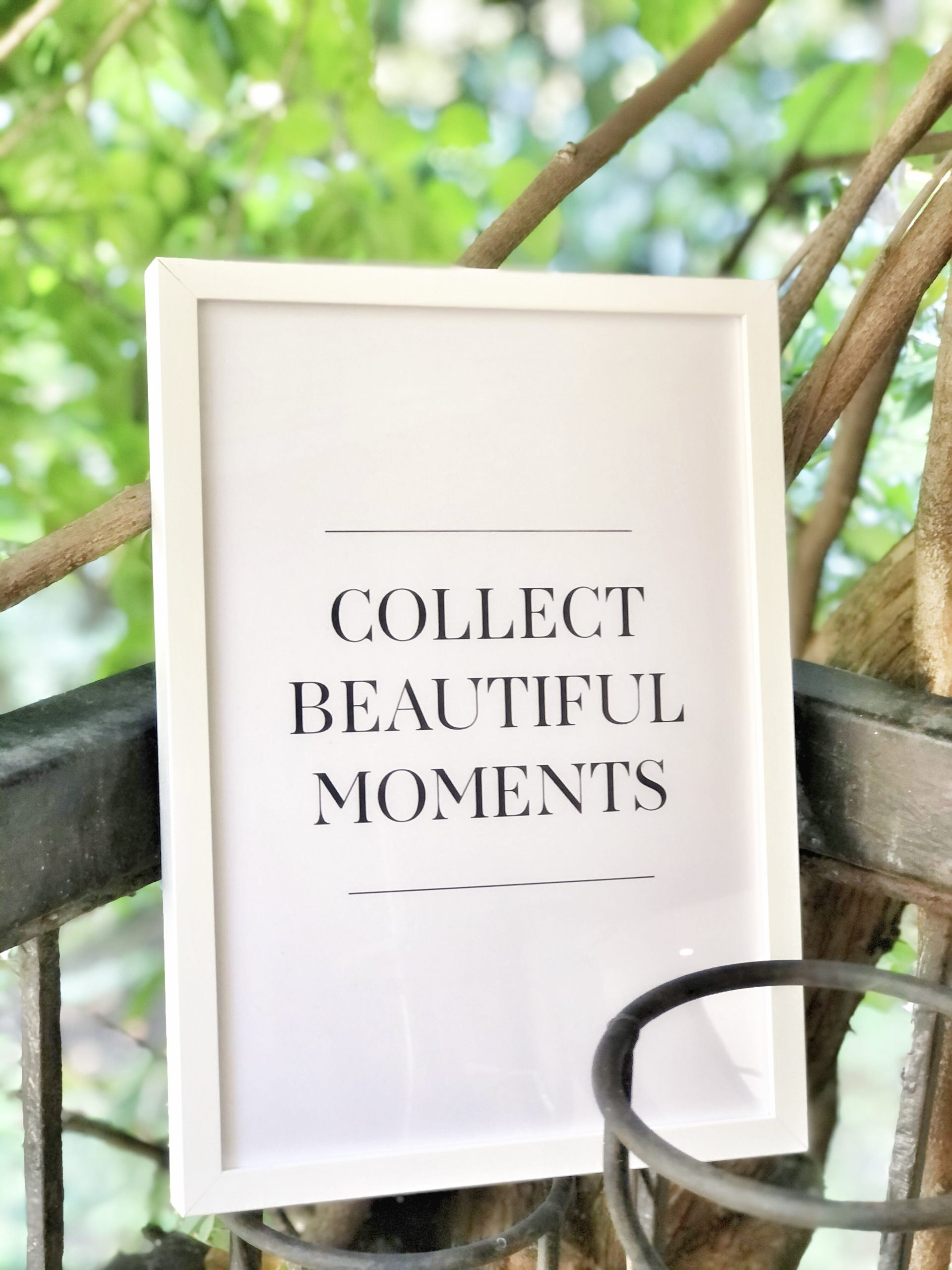 Poster Desenio, Collect Beautiful Moments